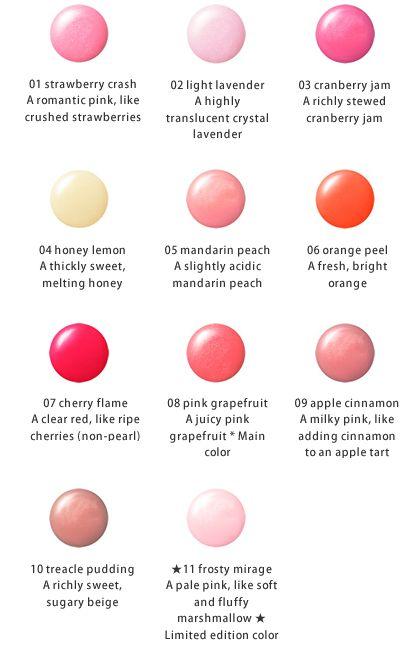 ผลการค้นหารูปภาพสำหรับ jill stuart jelly lip gloss n